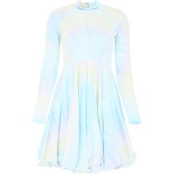 STELLA McCARTNEY TIE-DYE DRESS 40 White, Pink, Light blue found on Bargain Bro Philippines from Coltorti Boutique for $647.64