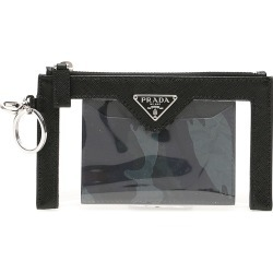 PRADA KEY POUCH OS Black Leather, Technical found on Bargain Bro India from Coltorti Boutique EU for $546.00