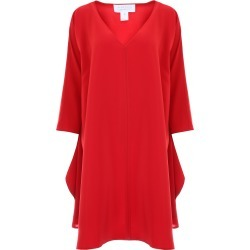 GIANLUCA CAPANNOLO SHELLY DRESS 40 Red found on Bargain Bro Philippines from Coltorti Boutique for $314.07
