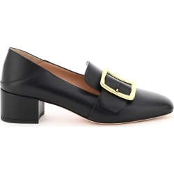 BALLY JANELLE LEATHER LOAFERS 35 Black Leather found on MODAPINS from Coltorti Boutique AU for USD $545.00