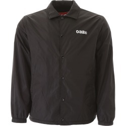 032C NYLON JACKET WITH LOGO S Black found on MODAPINS from Coltorti Boutique US for USD $126.00