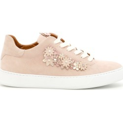 BLACK DIONISO FLOWER SNEAKERS 39 Pink, Beige Leather found on Bargain Bro Philippines from Coltorti Boutique for $153.11