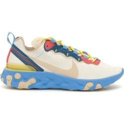 NIKE REACT ELEMENT 55 SNEAKERS 10 Light blue, Beige, Red Technical found on Bargain Bro Philippines from Coltorti Boutique for $95.29