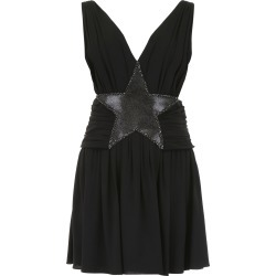 SAINT LAURENT MESH STAR MINI DRESS 36 Black found on Bargain Bro Philippines from Coltorti Boutique for $1645.35