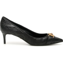 VERSACE BAROCCO NAPPA PUMPS 36 Black Leather found on MODAPINS from Coltorti Boutique US for USD $494.20