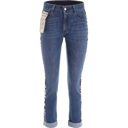STELLA McCARTNEY LOGO BAND JEANS 28 Blue Cotton, Denim found on Bargain Bro Philippines from Coltorti Boutique for $210.04