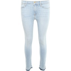 FRAME STRETCH LE HIGH SKINNY JEANS 26 Blue Cotton, Denim found on Bargain Bro Philippines from Coltorti Boutique for $140.60