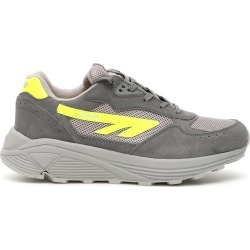 HI-TEC UNISEX HTS SHADOW RGS SNEAKERS 37 Grey, Yellow Leather, Technical found on MODAPINS from Coltorti Boutique US for USD $119.70