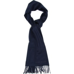 ALEXANDER MCQUEEN LOGO SCARF OS Blue Cashmere found on Bargain Bro Philippines from Coltorti Boutique EU for $513.50
