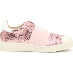 MOA GLITTER SNEAKERS 38 Pink, White Leather found on Bargain Bro Philippines from Coltorti Boutique for $94.96