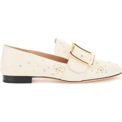BALLY JANELLE LOAFERS 37 Beige, White Leather found on MODAPINS from Coltorti Boutique AU for USD $423.75
