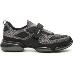 PRADA CLOUDBUST SNEAKERS 5 Silver found on MODAPINS from Coltorti Boutique for USD $596.46