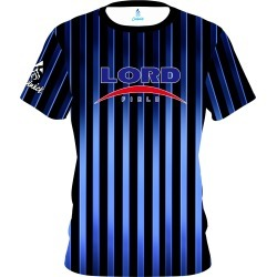Lord Field Blue Stripes CoolWick Bowling Jersey found on MODAPINS from Coolwick.com for USD $49.95
