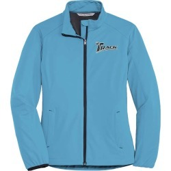 Track Women's Total Gear Active Soft Shell Bowling Jacket Cyan