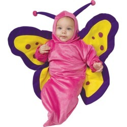 Deluxe Butterfly Baby Bunting Costume 0-6 months