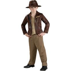 Deluxe Indiana Jones Kids Boys Costume