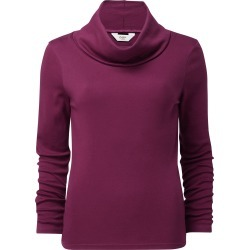 Cotton Traders Women's Supersoft Cowl Neck Top in Red found on Bargain Bro UK from Cotton Traders