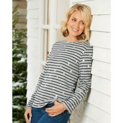 Cotton Traders Women's Printed Top in Blue found on Bargain Bro UK from Cotton Traders