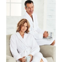 Cotton Traders Waffle Dressing Gown in White found on MODAPINS from Cotton Traders for USD $15.88