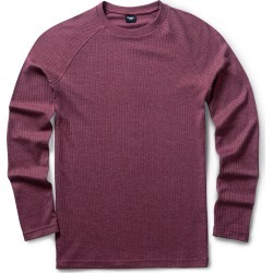 Cotton Traders Long Sleeve Marl Crew Neck Top in Red found on Bargain Bro UK from Cotton Traders