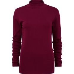 Cotton Traders Women's Wrinkle Free Turtle Neck Top in Red found on Bargain Bro UK from Cotton Traders