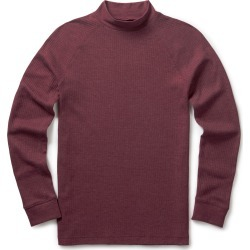 Cotton Traders Long Sleeve Marl Turtle Neck Top in Red found on Bargain Bro UK from Cotton Traders