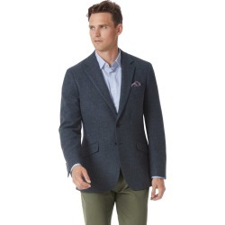 Slim Fit Indigo Blue Wool Wool Jacket Size 40 by Charles Tyrwhitt found on Bargain Bro India from Charles Tyrwhitt for $349.00