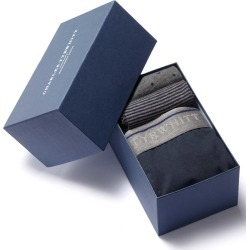 Navy Jersey Trunk and Sock Gift Box Size XL by Charles Tyrwhitt found on Bargain Bro UK from Charles Tyrwhitt (AU)