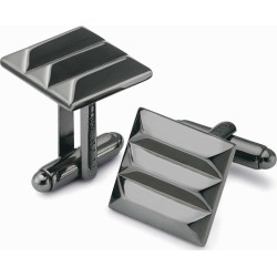 Gunmetal Square Ridged Cufflinks by Charles Tyrwhitt found on MODAPINS from Charles Tyrwhitt (AU) for USD $62.04