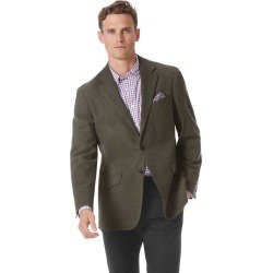 Classic Fit Green Wool Wool Jacket Size 38 by Charles Tyrwhitt found on Bargain Bro India from Charles Tyrwhitt for $349.00
