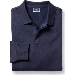 Long Sleeve Polo Sweatshirt - Navy Size Small by Charles Tyrwhitt found on Bargain Bro UK from Charles Tyrwhitt (AU)