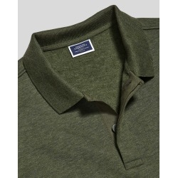 Long Sleeve Polo Sweatshirt - Olive Size XL by Charles Tyrwhitt found on Bargain Bro UK from Charles Tyrwhitt (AU)