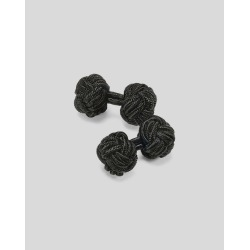 Knot Cufflinks - Black by Charles Tyrwhitt found on MODAPINS from Charles Tyrwhitt (AU) for USD $16.92