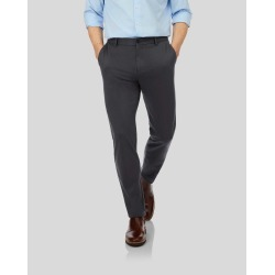 Travel Trousers - Charcoal Size W91 L86 by Charles Tyrwhitt found on Bargain Bro from Charles Tyrwhitt (AU) for £66