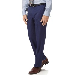 Indigo Slim Fit Hairline Business Suit Wool Pants Size W36 L38 by Charles Tyrwhitt found on Bargain Bro India from Charles Tyrwhitt for $60.00