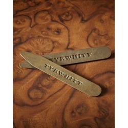 3 Pack Solid Brass Classic Collar Stiffeners found on Bargain Bro UK from Charles Tyrwhitt (UK)