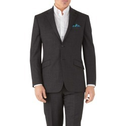 Charcoal Classic Fit Hairline Business Suit Wool Jacket Size 48 by Charles Tyrwhitt found on Bargain Bro India from Charles Tyrwhitt for $189.00