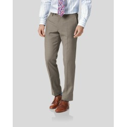 Fawn Classic Fit Twill Business Suit Wool Pants Size W32 L32 by Charles Tyrwhitt found on Bargain Bro India from Charles Tyrwhitt for $90.00