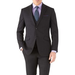 Charcoal Slim Fit Hairline Business Suit Wool Jacket Size 42 by Charles Tyrwhitt found on Bargain Bro India from Charles Tyrwhitt for $189.00