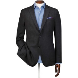 Slim Fit Charcoal Italian Wool Wool Blazer Size 38 by Charles Tyrwhitt found on Bargain Bro India from Charles Tyrwhitt for $149.00