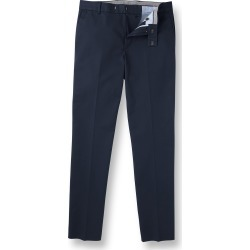 Non-Iron Cotton Chino Pants - Navy Size W76 L76 by Charles Tyrwhitt found on Bargain Bro UK from Charles Tyrwhitt (AU)