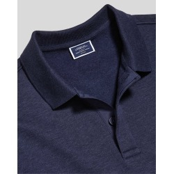 Long Sleeve Polo Sweatshirt - Navy Size XS by Charles Tyrwhitt found on Bargain Bro UK from Charles Tyrwhitt (AU)