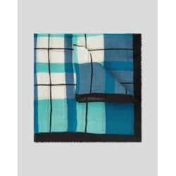 Check Wool Silk Luxury Pocket Square - Navy & Green by Charles Tyrwhitt found on Bargain Bro UK from Charles Tyrwhitt (AU)