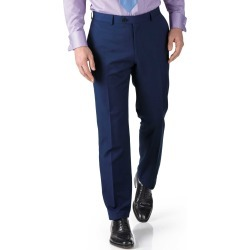 Royal Blue Extra Slim Fit Twill Business Suit Wool Pants Size W36 L38 by Charles Tyrwhitt found on Bargain Bro India from Charles Tyrwhitt for $60.00