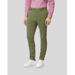 Ultimate Non-Iron Chino - Green Size W107 L86 by Charles Tyrwhitt found on Bargain Bro UK from Charles Tyrwhitt (AU)