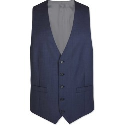 Wool Airforce Blue Adjustable Fit Sharkskin Travel Suit Waistcoat found on Bargain Bro UK from Charles Tyrwhitt (UK)