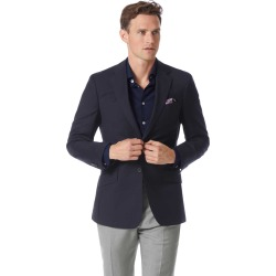 Slim Fit Navy Wool Perfect Wool Blazer Size 38 by Charles Tyrwhitt found on Bargain Bro India from Charles Tyrwhitt for $299.00