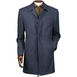 Airforce Blue Puppytooth Weatherproof Wool Car Wool Coat Size 42 by Charles Tyrwhitt found on Bargain Bro India from Charles Tyrwhitt for $399.00