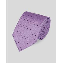 Silk Spot Stain Resistant Classic Tie - Lilac & Navy Size OSFA by Charles Tyrwhitt found on Bargain Bro UK from charles tyrwhitt shirts eu