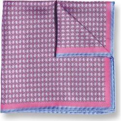 Elephant Print Silk Pocket Square - Pink Size OSFA by Charles Tyrwhitt found on Bargain Bro UK from charles tyrwhitt shirts eu
